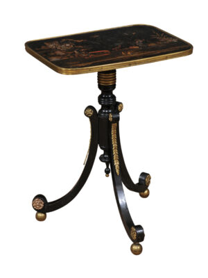 19th Century English Chinoiserie Drink Table