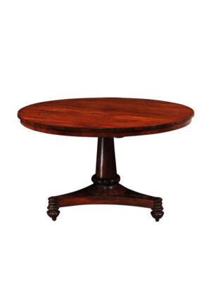 19th Century English Rosewood Center Table