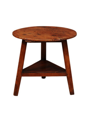 19th Century Pine & Ash Cricket Table