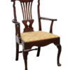 Chippendale Style Mahogany Arm Chair