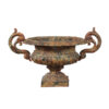 Painted Iron Urn Form Planter