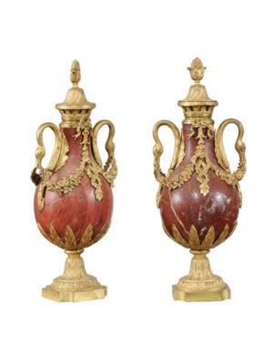 Pair Louis XVI Style Cassollettes