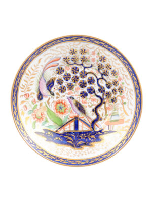 Petite Porcelain Plate with Birds