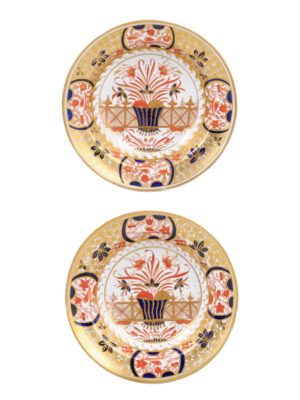 Spode Pattern 1495 Low Bowls