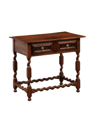 18th Century English Walnut Side Table