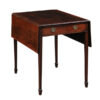 Hepplewhite Mahogany Pembroke Table with 2 Drawers