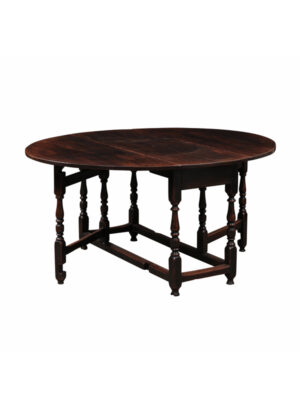 Late 17th Century Oak Gate Leg Table