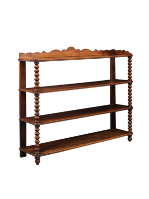 Louis Philippe Walnut 4-Tier Server