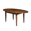 Walnut Oval Farm Table