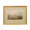 Framed 19th Century English Landscape Print