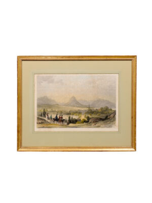 Framed 19th Century English Landscape Print