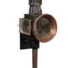 19th Century English Copper Coach Lantern