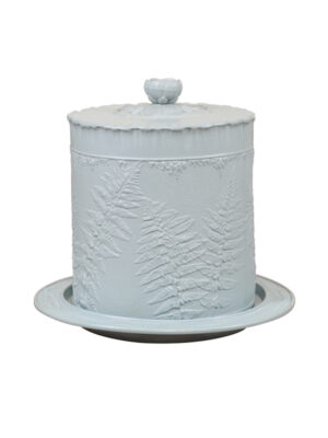 19th Century English Sky Blue Cheese Dome