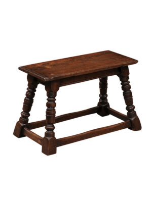 19th Century Oak Joint Stool