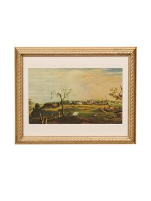 Framed American Landscape Print