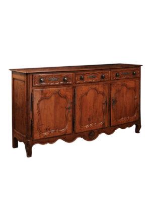 Louis XV Style Fruitwood Enfilade