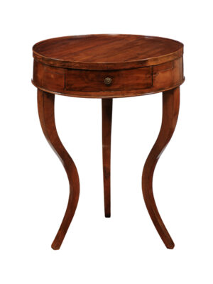 Neoclassical Walnut Gueridon