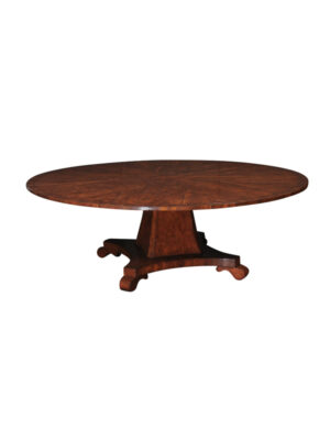Round Dining Table in Yew
