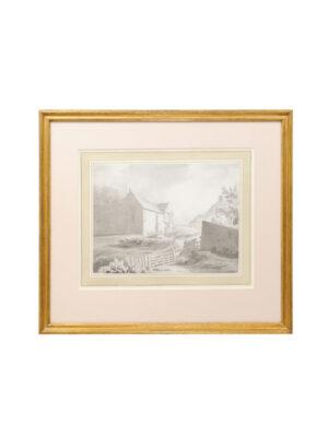 18th Century English Watercolor Landscape