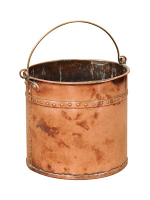 19th Century Copper Bucket
