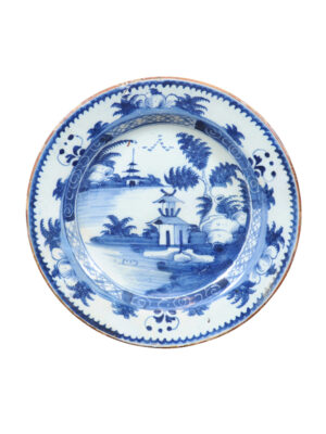 Blue & White Delft Charger