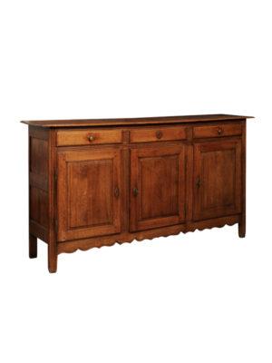 Louis XVI Style Oak Enfilade