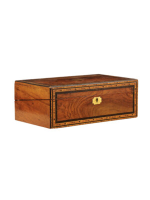 19th Century English Rosewood Lap Desk