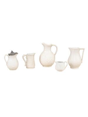 Collection 19th Century Salt Glaze Pitchers
