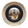 19th Century English Painted Bullseye Mirror
