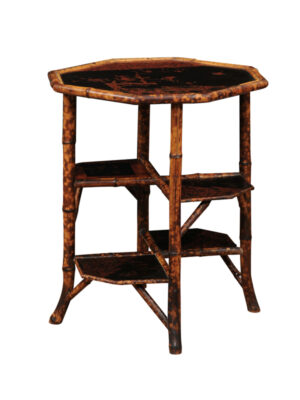 Aesthetic Style Bamboo Side Table