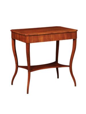 Biedermeier Fruitwood Console Table