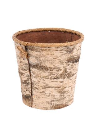 Birch Bark Bucket
