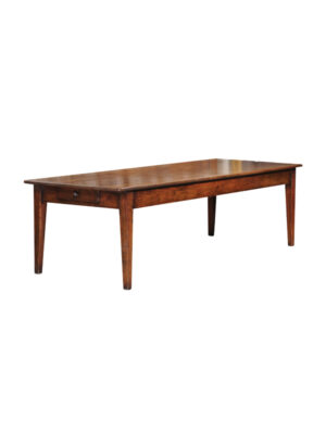French Farm Table with Tapered Legs
