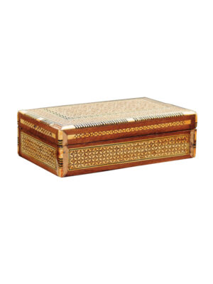 Anglo Indian Mother of Pearl Box