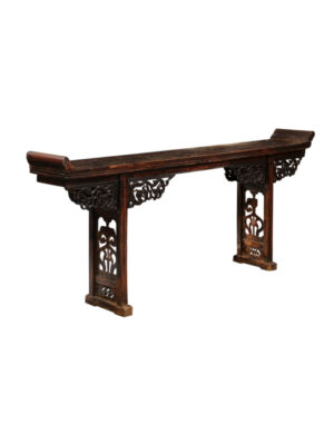 Chinese Export Lacquered Altar Table