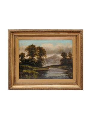 Eugene Yoors Oil on Canvas Landscape Painting