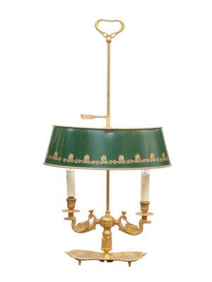 Louis XVI Style Bouillotte Lamp