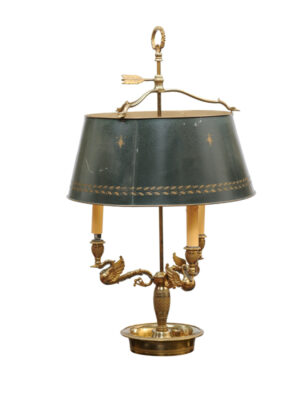 Louis XVI Style Brass Bouillotte Lamp