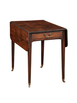 19th C English Mahogany Pembroke Table