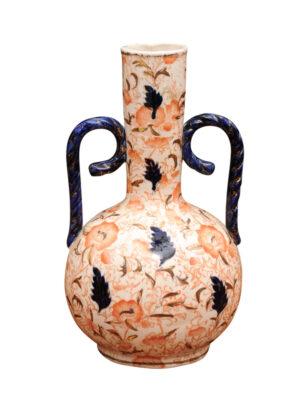 19th C. Imari Bottleneck Vase