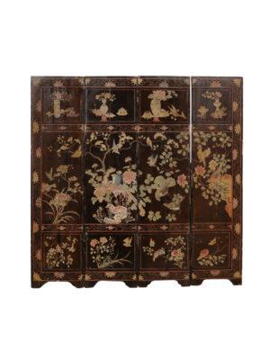 19th Century Coromandel Folding Screen