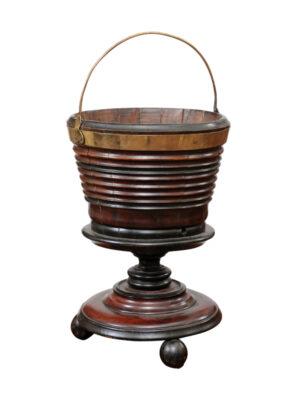 19th Century Dutch Bucket in Mahogany