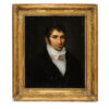 19th Century Giltwood Framed Portrait of a Gentleman