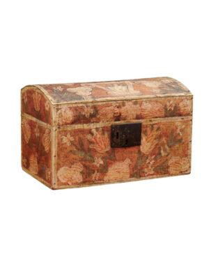 19th Century Painted Brides Box