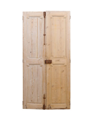 Pair Pine Doors from France