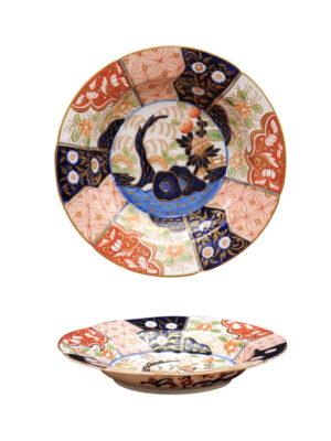 Pair of Coalport Money Tree Porcelain Plates